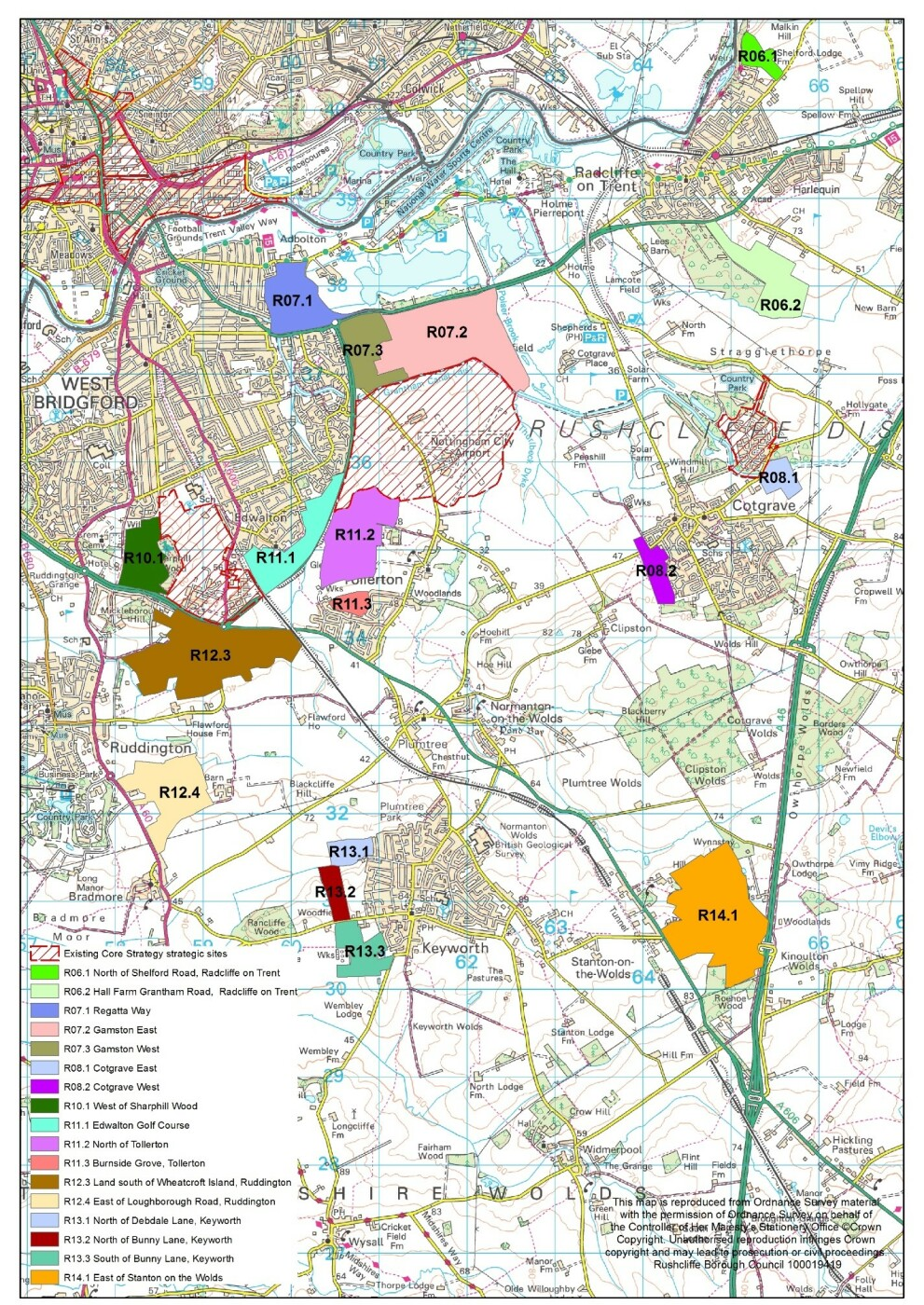 Greater Nottingham Strategic Plan - Growth Options Consultation (July 2020)